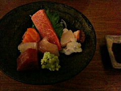 Otsukuri (Sashimi), Omakase course, Chiharu