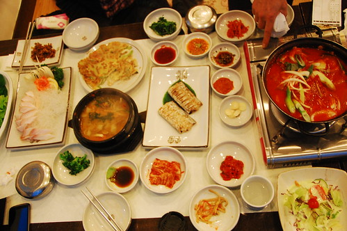 Analysis of a Korean meal