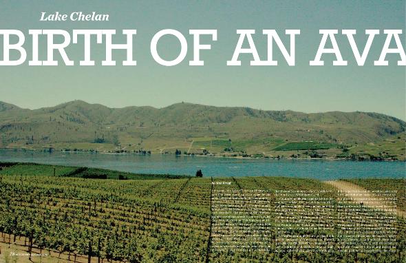 Lake Chelan: Birth of an AVA