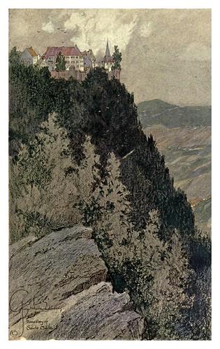 009-Sainte Odile el monasterio-Alsace-Lorraine-1918- Edwards George Wharton
