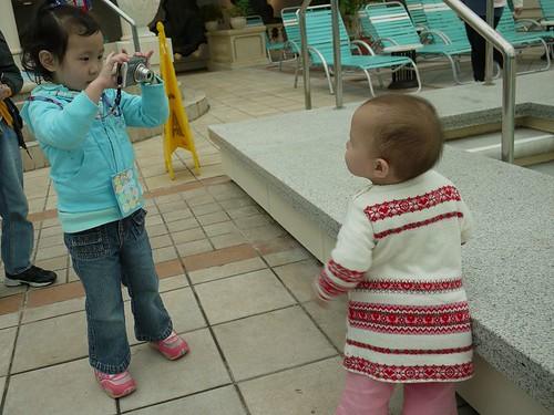 小酷妹玩相機