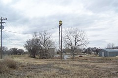 Federal Signal Model 5T siren Las Animas, Colorado (carexpertandy) Tags: county las weather sign fire model colorado 5 air co bent raid tornado signal federal defense siren animas severe 5t civl