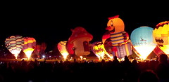 Nightglow (-nw-) Tags: mushroom night balloons fire university fuji hamilton first finepix waikato fujifilm uni hotairballoons crowds 2010 balloonsoverwaikato nightglow s1500 cathaypacificballoon