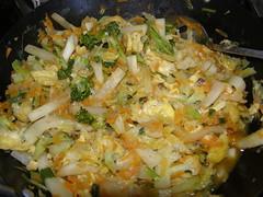 brassicae et allium stir fry