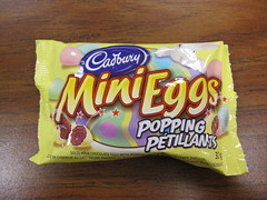 Cadbury Mini Eggs Popping