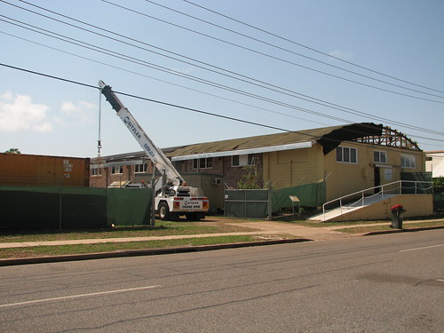 AHSNT Workshop Roof Replacement October 2007