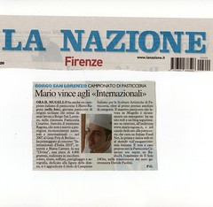 Articolo de: La Nazione di Firenze 29Marzo 2010