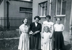 Image titled Frances, Mary and Nan Scott, Balcombie Street, Ruchazie 1956