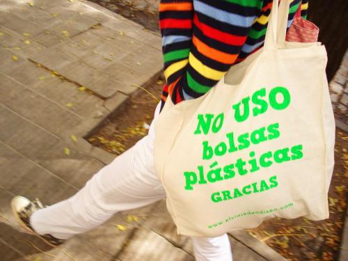 no a las bolsas plasticas