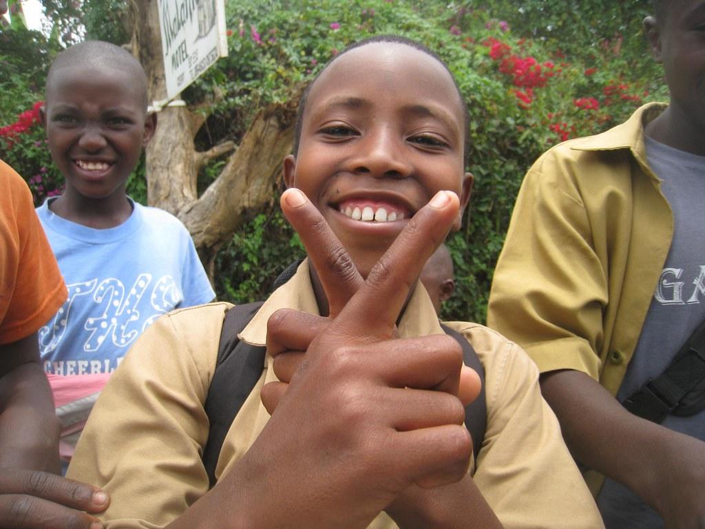 Rwandan boy in Gisenyi