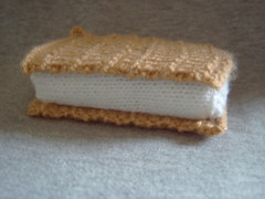 Ice Cream wafer (Impression-Knits) Tags: food fish dogs knitting hats icecream knitted novelties9