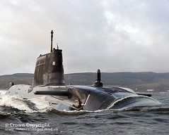 Royal Navy Submarine HMS Astute
