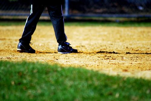 Baseball Feet
