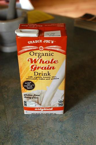 Trader Joe's organic grain drink