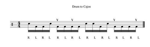 drum to cajon c3