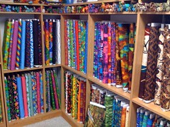 Inside Quilter's Store Sedona