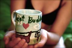 80.365 (little hiccup) Tags: friends love hands tea cannon mug miss bestbuds hold weinerdog