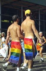 Rainbow skirts