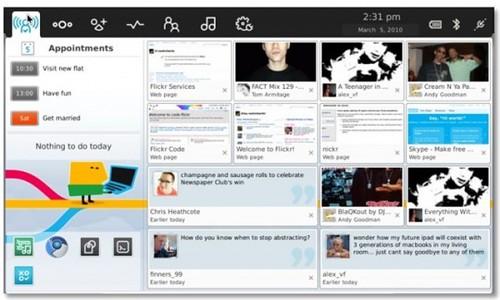 meego netbook UI