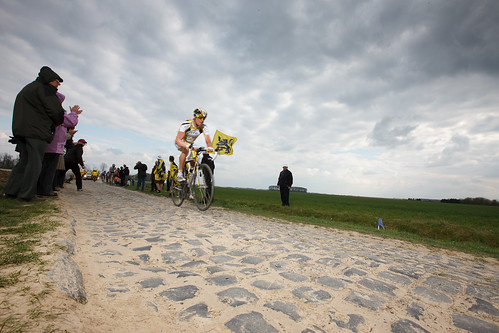 The unforgiving cobbles of the Paris-Roubaix. Photo: tetedelacourse