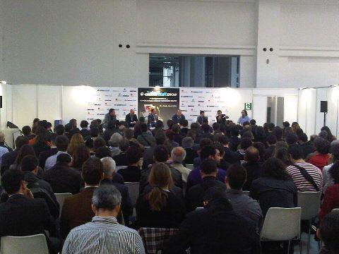 Viendo @carlosblanco y @tonimascaró y demás en acción #ecommretail by Francesc Grau