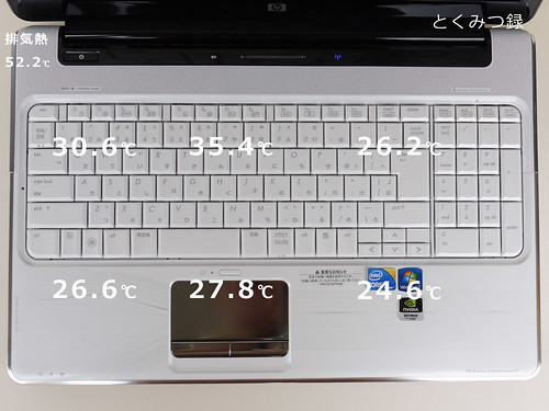 HP Pavilion Notebook PC dv6 春モデル