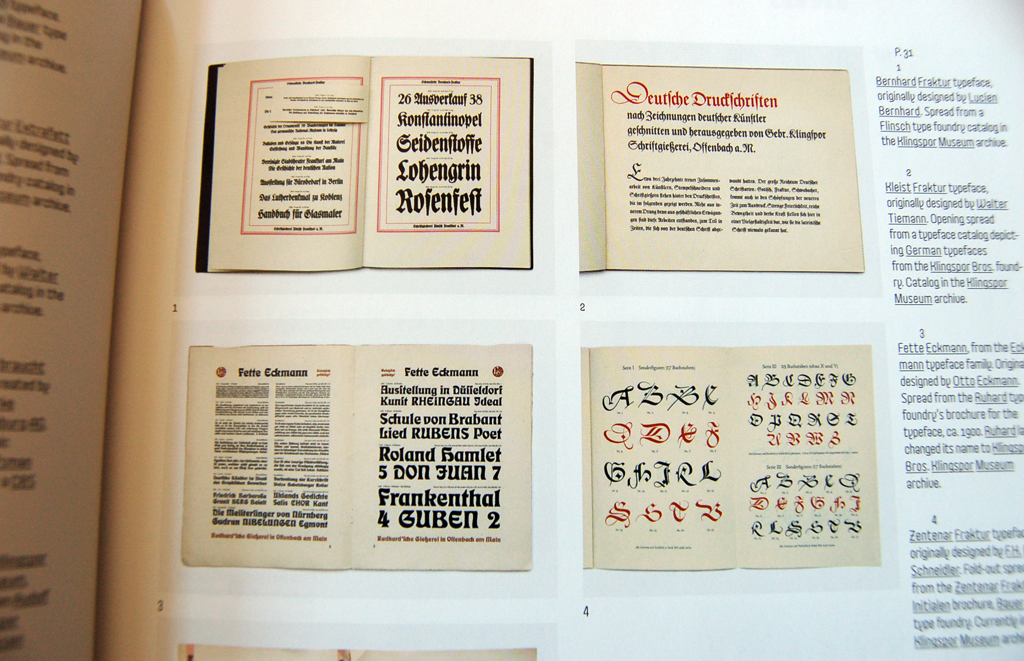 Linotype and Klingspor Museum archive treats