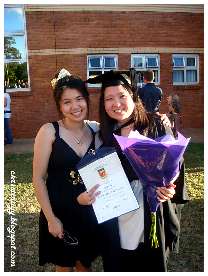 USQ Toowoomba Graduation Ceremony April 2010