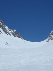 Blick zurck in Richtung Ltschenlcke (mboelli) Tags: skitour ltschenlcke