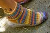Colorful sock alicethelma.com