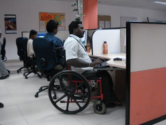 Indian IT firms open up to the differently abled