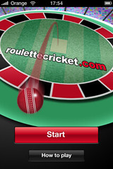 Roulette Cricket: Splash Screen