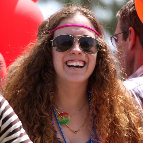 Hippy at Phoenix Gay Pride Parade by kevin dooley, on Flickr