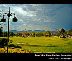 Location: Lake View Point, Islamabad (Ahmed Zoha (Away)) Tags: pakistan green garden point hills spots lakeview islamabad abigfave