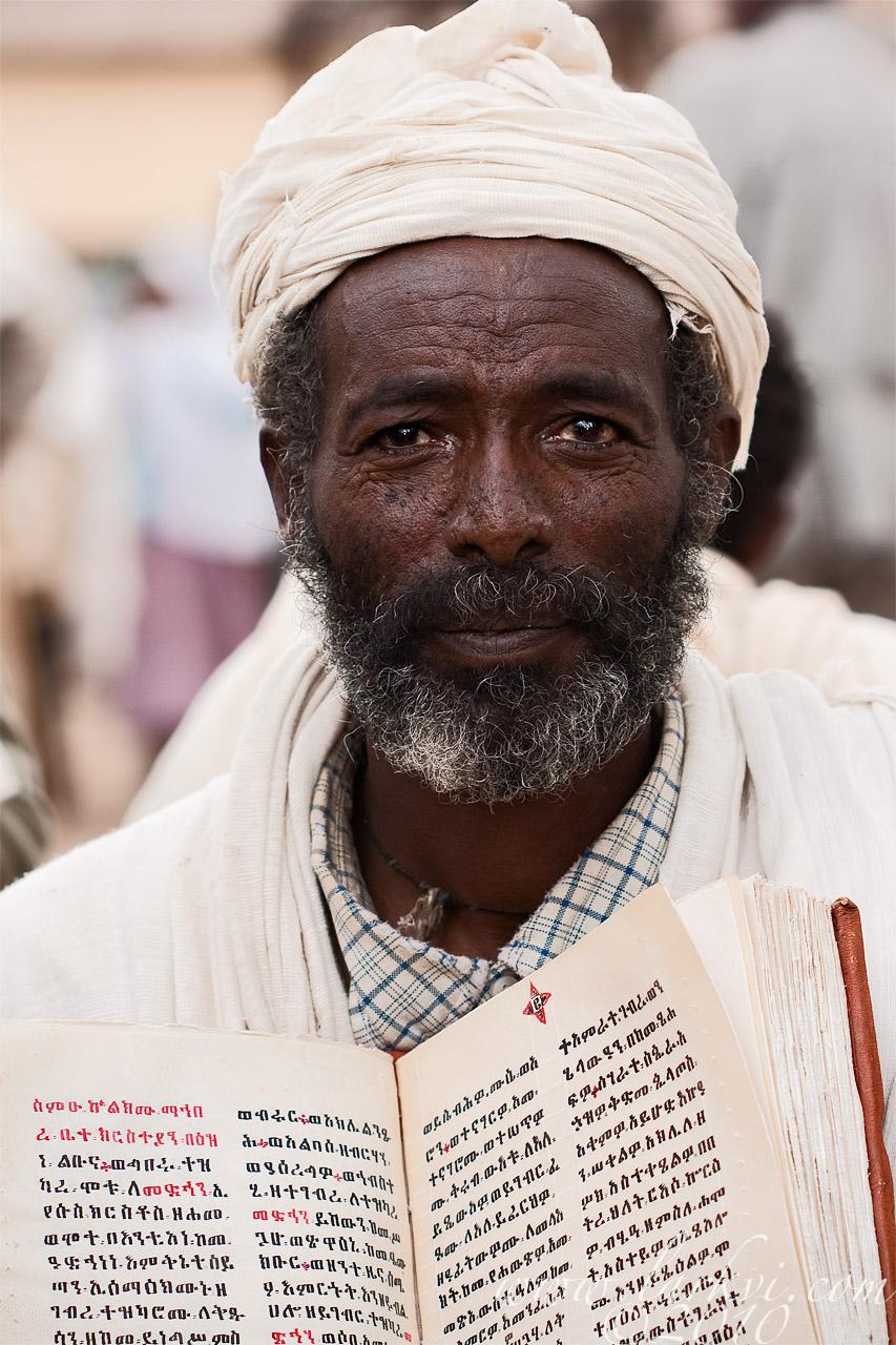 Scribe, Book Market, Axum. 2009