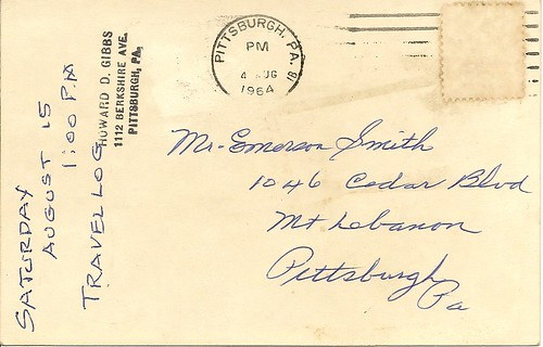 Mystery Numismatic Postcard reverse