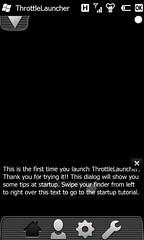 ThrottleLauncher 1.0.1 初回起動