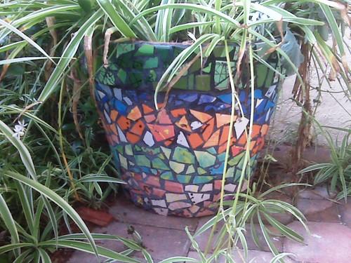 Mosaic Tile Flower Pots Craftbits Com