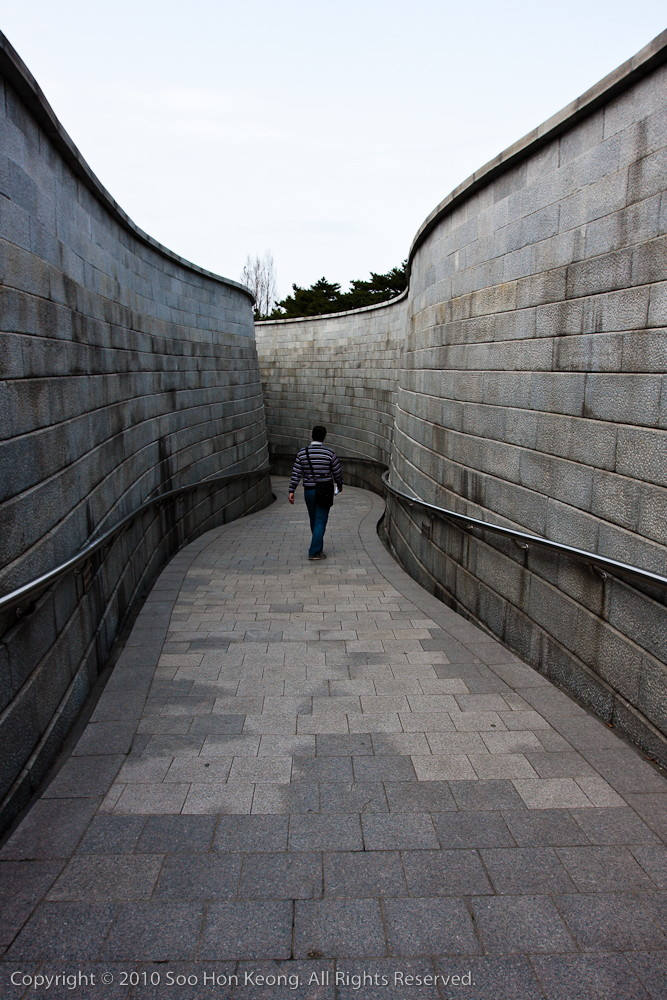 Walking to the TIme Capsule @ Namsangol Hanok Village, Seoul, Korea