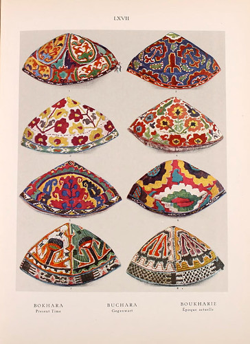 019-Bokhara-Uzbekistan principios del siglo XX-Ornament two thousand decorative motifs…1924-Helmuth Theodor Bossert