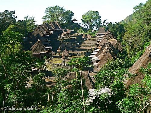 Bena, Traditional Ngadu Village, Flores Indonesia
