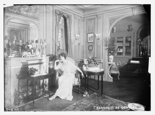 Baroness de  Guestre [in home] (LOC)