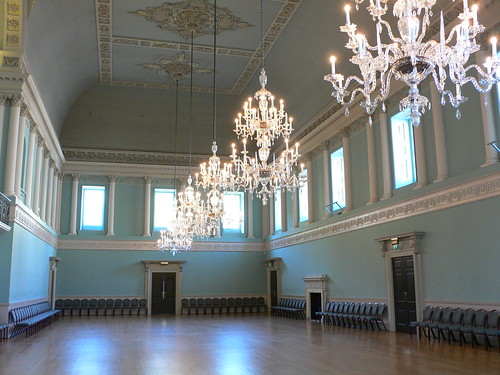 Assembly rooms in Bath