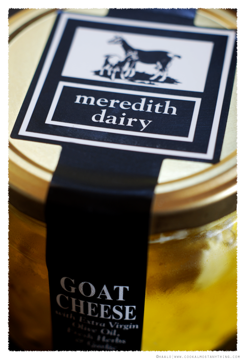 Meredith Dairy Goat Cheese in Extra Virgin Olive Oil© by Haalo