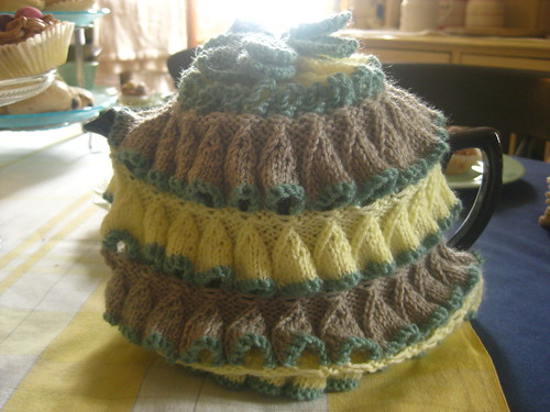 I doubt this tea cozy was originally in the house, but Im still in love with it!
