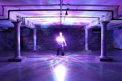 galaxy conquest ({ tcb }) Tags: color pattern purple space basement surreal symmetry tcb supernatural spirograph clublighting twincitiesbrightest onsometechnoclubdancerockcrazyasslightshitson lightpaintingwithoutlet spinninglightcontraption
