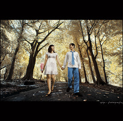 the look of love (yoga - photowork) Tags: portrait people tree love canon indonesia lens ir fun photography 350d model couple angle wide wideangle canon350d infrared romantic conceptual malang symphony 1022mm prewedding digitalinfrared prewed skintone infraredphotography inspiredbylove efs1022mmf3545usm romanticmoment trasognoerealtà hallofframe anawesomeshot flickaday flickrclassique trasognoerealta
