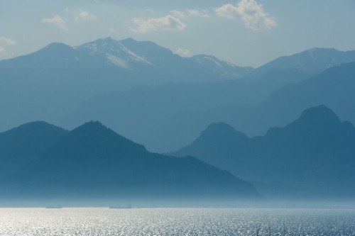 Blue Olympos by feradz