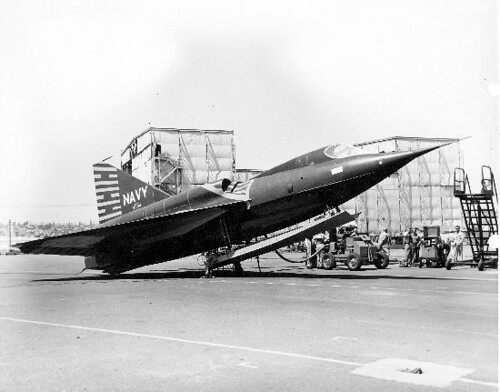 Convair : F2Y-1 : Sea Dart