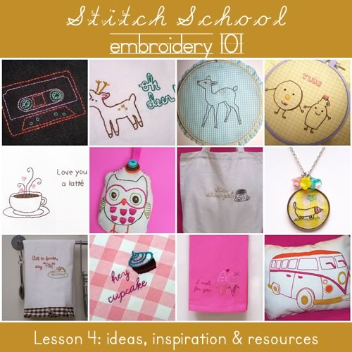 Stitch School: lesson 4